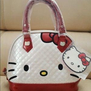 LoungeFly Sanrio hello kitty dome purse